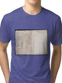 Civil War Maps 2145 Maps of Virginia Tri-blend T-Shirt