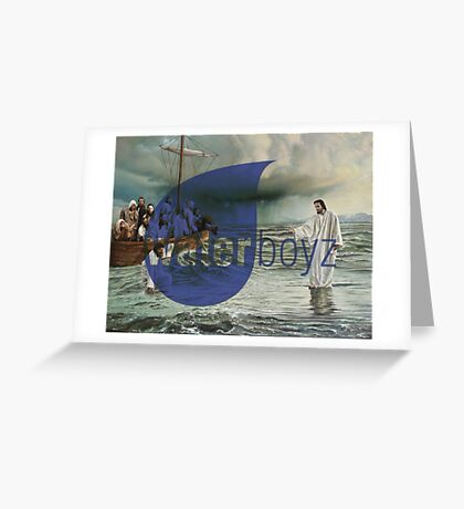 Water Boyz Greeting Card