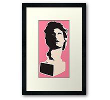 Floral Shoppe - Helios Bust Framed Print