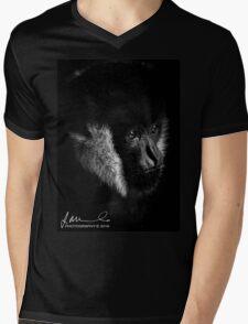 Melbourne Zoo - Gibbon Mens V-Neck T-Shirt