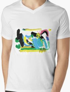 Fun with Paint Mens V-Neck T-Shirt