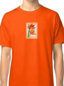 Birthday Wishes - Parrot Tulips Classic T-Shirt