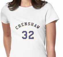 Monica Wright 32 Crenshaw High School Basketball Shirt Womens Fitted T-Shirt