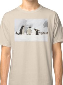 "Gentoo Penguins ~ ""Our World"" Classic T-Shirt"
