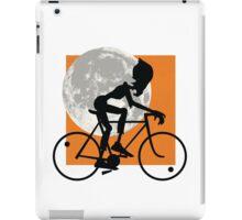Friendly Zombie - bike iPad Case/Skin
