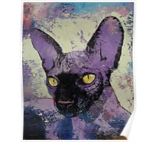 Sphynx Painting Poster