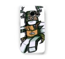 Cardboard Robot Deer Bucket Blox Samsung Galaxy Case/Skin