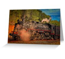 Age Of Steam 3 Greeting Card