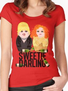 Sweetie Darling /Fabulous Realness 2.0 Women's Fitted Scoop T-Shirt