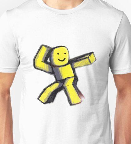 Yellow Blox Unisex T-Shirt