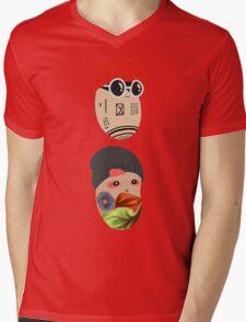 Duo Beans v2 Mens V-Neck T-Shirt