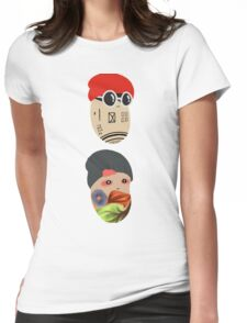 Duo Beans v2 Womens Fitted T-Shirt
