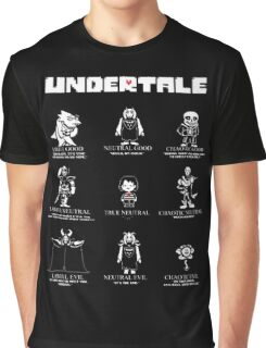 Undertale Character Funny Graphic T-Shirt