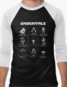 Undertale Character Funny T-Shirt