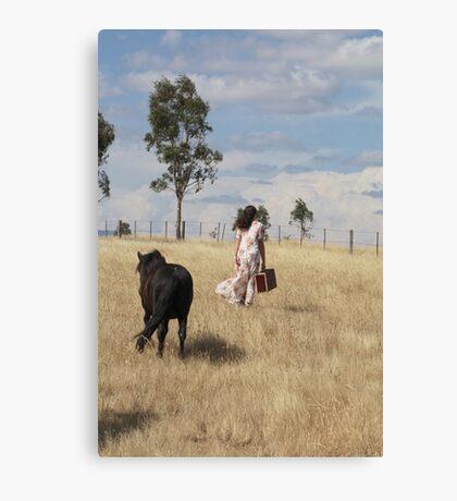 "Zoe Eve "" Shetland Walk"" Canvas Print"