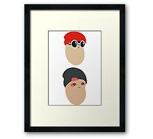 Duo Beans v1 Framed Print
