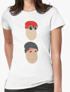 Duo Beans v1 Womens Fitted T-Shirt