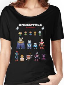 Undertale Character Color Version Women's Relaxed Fit T-Shirt