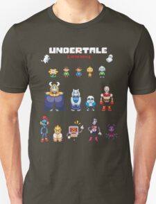 Undertale Character Color Version T-Shirt