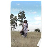 """Zoe Eve """"Country Walk"""" Poster"""