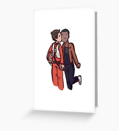 Gaybes - finnpoe Greeting Card
