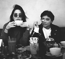 Kendall Jenner & Kylie Jenner by kyleforniaa