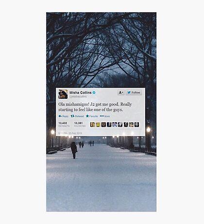 Misha Tweet  Photographic Print