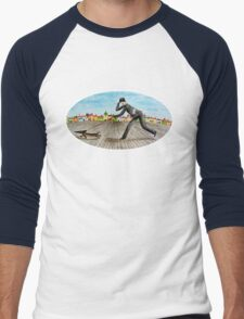 Walk with dog (2) Men's Baseball ¾ T-Shirt