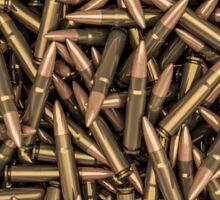 Rifle bullets Sticker