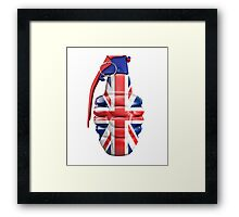 British grenade Framed Print