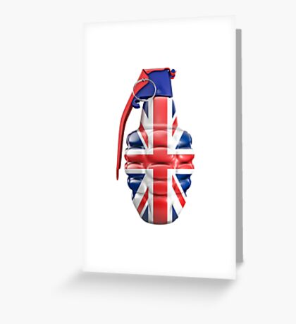 British grenade Greeting Card