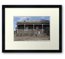 "Zoe Eve ""Farm House"" Framed Print"