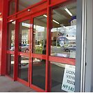 *Red Doors & Reflection - Creswick, Vic. Aust.8 by EdsMum