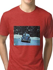 Oval &Ski Tri-blend T-Shirt