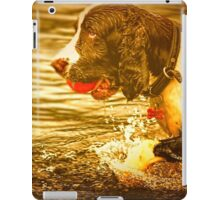 Dog On A Mission iPad Case/Skin