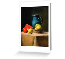 Fruit & Jug Greeting Card