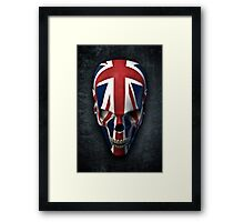 British horror Framed Print
