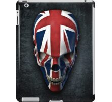 British horror iPad Case/Skin