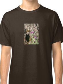 Scarce Swallowtail Butterfly and Thistle Classic T-Shirt