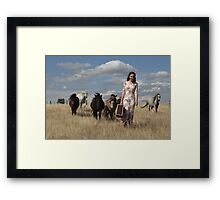 """Zoe Eve """"Lead the way and we will follow"""" Framed Print"""