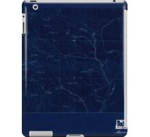 Civil War Maps 2076 Map of the Big Black River Mississippi in the vicinity of Bush and Birdsong's ferries 1863 Inverted iPad Case/Skin