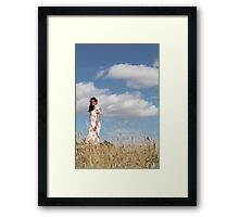 "Zoe Eve ""Summer Clouds"" Framed Print"