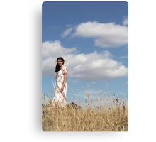 "Zoe Eve ""Summer Clouds"" Canvas Print"