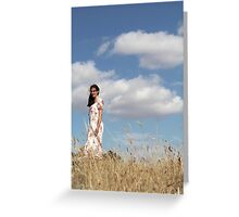 "Zoe Eve ""Summer Clouds"" Greeting Card"