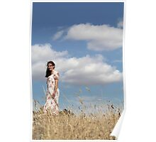 """Zoe Eve """"Summer Clouds"""" Poster"""