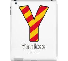 Y = Yankee iPad Case/Skin