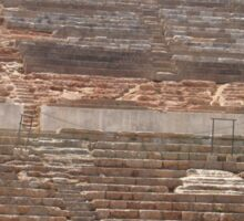 The Seated Spectator At Ephesus Ancient Theatre Sticker