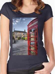 The Woolpack ~ Emmerdale Farm Country Women's Fitted Scoop T-Shirt