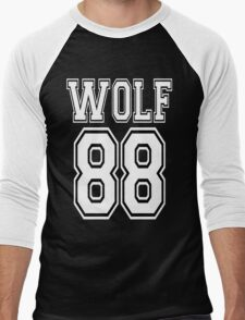 ♥♫WOLF 88-Splendiferous K-Pop EXO Clothing & Cases & Stickers & Bags & Home Decor & Stationary♪♥ Men's Baseball ¾ T-Shirt