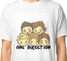 One Direction Cartoony Faces! Classic T-Shirt